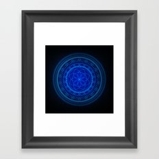 The Blues I Framed Art Print