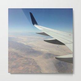 Plane Wing Metal Print