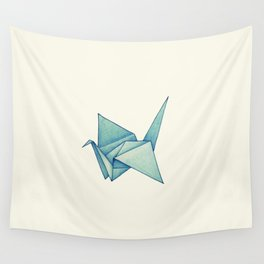 High Hopes | Origami Crane Wall Tapestry