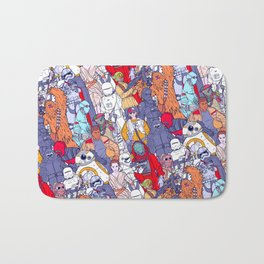 Smaller Space Toons in Color Bath Mat