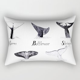 Toothed Whales Rectangular Pillow