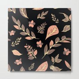 Flower Design Series 20 Metal Print