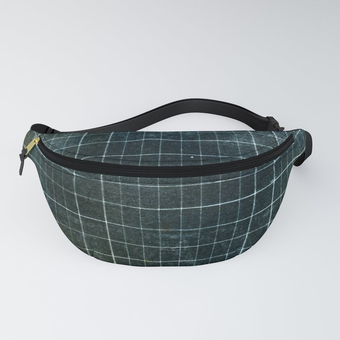 Weathered Grid Fanny Pack