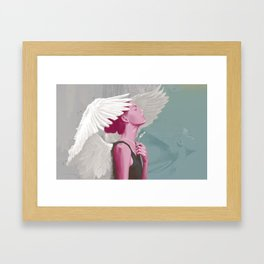 Diversion Framed Art Print
