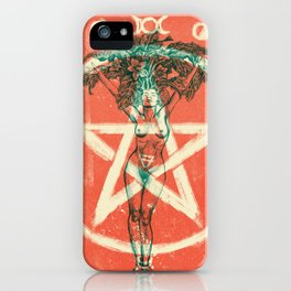 Mandrágora iPhone Case