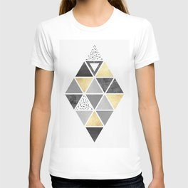 Triangle texture T-shirt