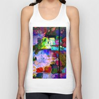 oil Tank Tops featuring Oil Spill by Martina Erives50