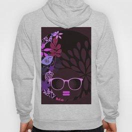 Afro Divva Magenta Lavender Eggplant Hoody