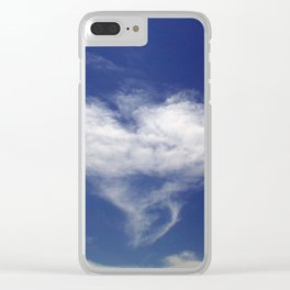 Heart Cloud Clear iPhone Case