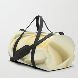 White Rose Of The Parking Structure Duffle Bag