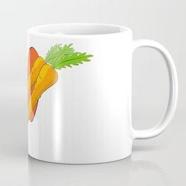 Carrot Heart Coffee Mug