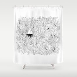 Where are the stagnant waters Shower Curtain
