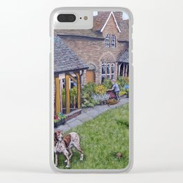 Lazy Sunday in Llanellen Clear iPhone Case