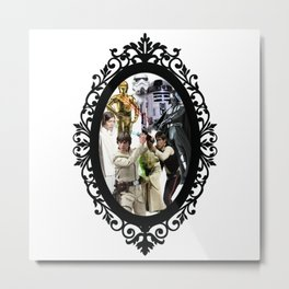 I love you- I Know Metal Print