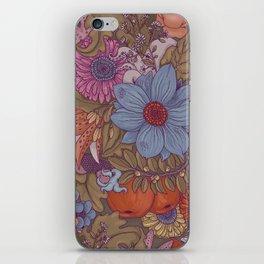 the wild side - autumn tones iPhone Skin