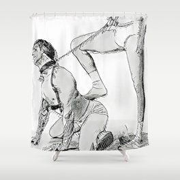 Submissive Shower Curtain