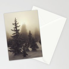Sunlight, Frost and Steam Stationery Cards