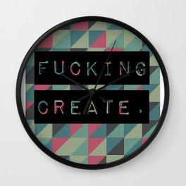 Fucking Create Wall Clock