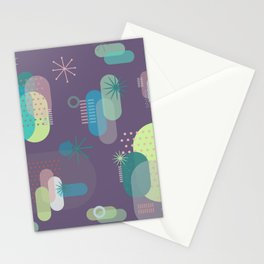 Intergalactic Cactus Stationery Cards