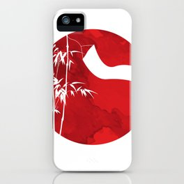 New Year Tree Bamboo Pole Vietnam Neu iPhone Case