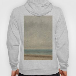 Gustave Courbet Calm Sea 1866 Painting Hoody