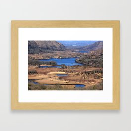 Ladies View Killarney National Park Framed Art Print