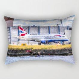 British Airways Single scull Rectangular Pillow