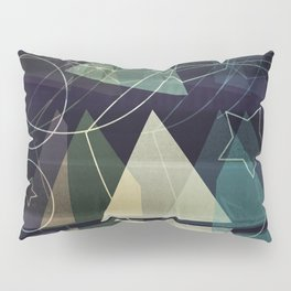 The Geometry of Thoughts Pillow Sham