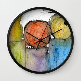 Megalithic Grave II Wall Clock