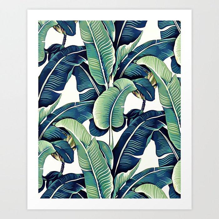 Banana leaves Kunstdrucke