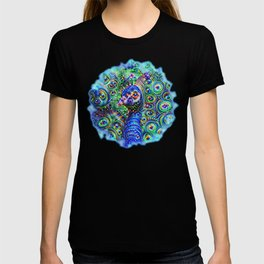 Brilliant Jeweled Peacock T-shirt