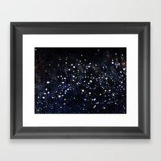 Under the Milky Way Framed Art Print