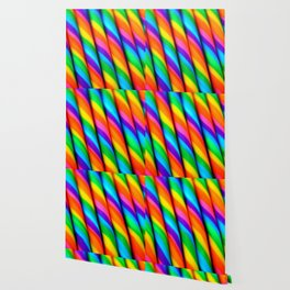 Rainbow Candy : Candy Canes Wallpaper