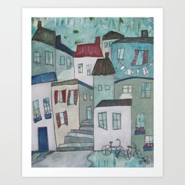 Bicicletta Art Print