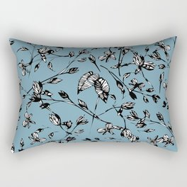 Portal Azul Rectangular Pillow