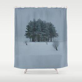 still. Shower Curtain