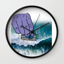 Cocaine Coke Coca Line Blow Drug Sniff Snort Gift Wall Clock