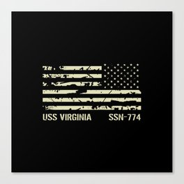 USS Virginia Canvas Print