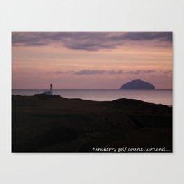 turnberry golf course ayrshire, scotland Canvas Print