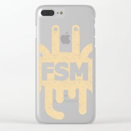 FSM Clear iPhone Case