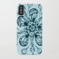 snowflake iPhone & iPod Cases featuring Snowflake by Laura Maxwell