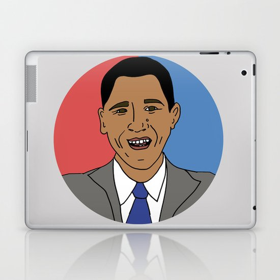 Our Obama Laptop & iPad Skin