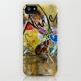 Mexicans vs Jews (oil on canvas) iPhone Case
