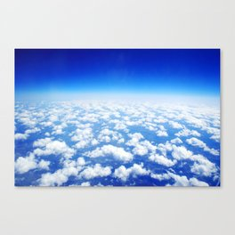 Looking Above the Clouds Canvas Print