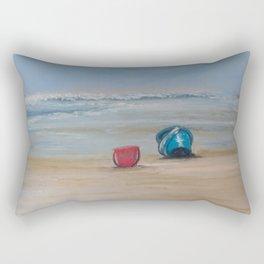 Sand Pails Rectangular Pillow