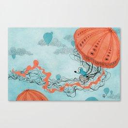 Dirigible Jellies Canvas Print