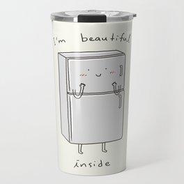 I'm Beautiful Inside Travel Mug