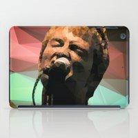 radiohead iPad Cases featuring Thom Yorke | Radiohead | Creep | Polygon Art by Mirek Kodes
