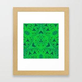 Kryptonite Framed Art Print