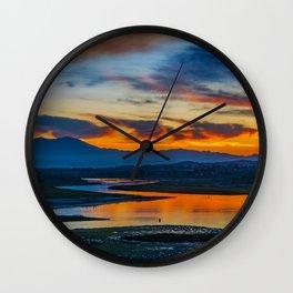 Saddleback at Sunrise from the Back Bay Wall Clock